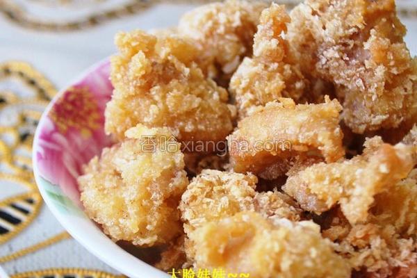 香脆鸡米花的做法
