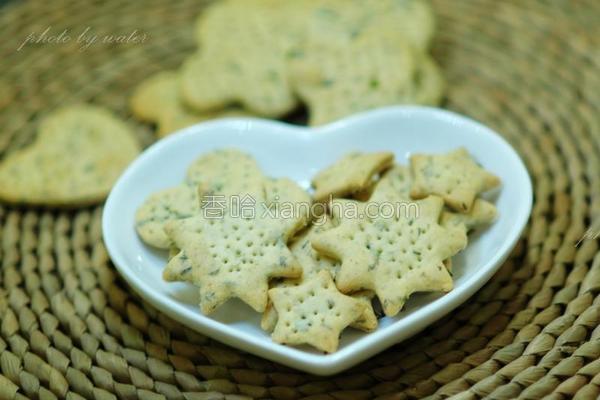 香葱海苔苏打饼干的做法