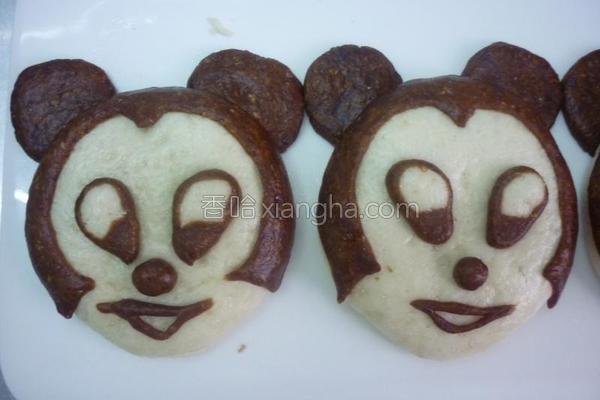 米老鼠小饼的做法