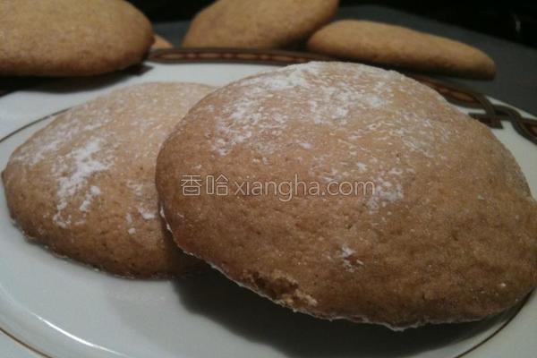 姜汁饼干的做法
