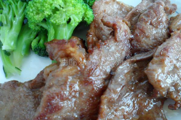 底锅煎肉的做法