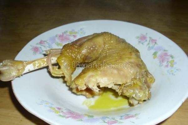零难度手撕盐焗鸡的做法