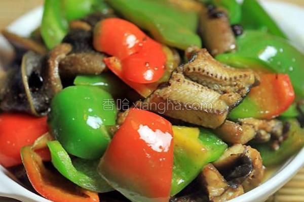 豉椒炒黄鳝的做法