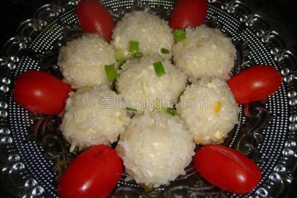 珍珠豆腐圆子的做法
