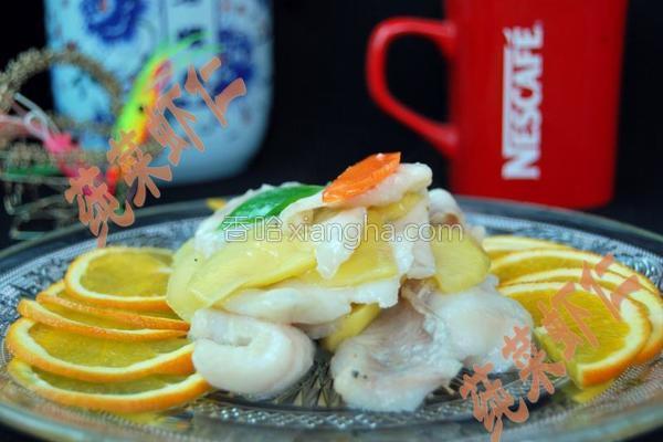 芒果炒鱼片的做法