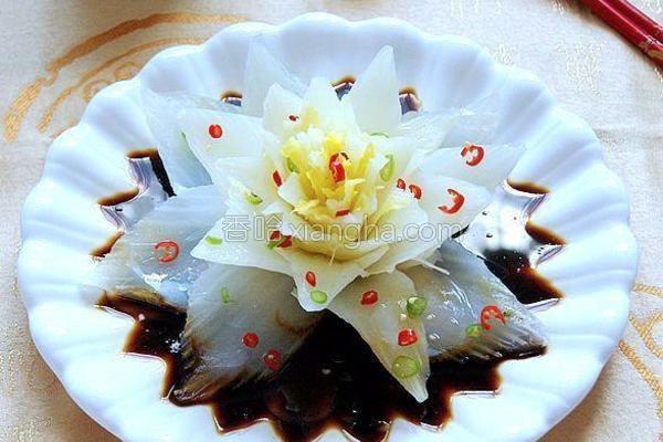 豉汁莲花白菜的做法