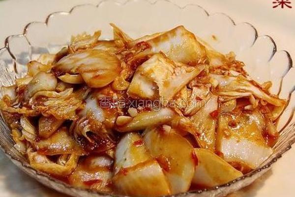 鱼香炒白菜的做法