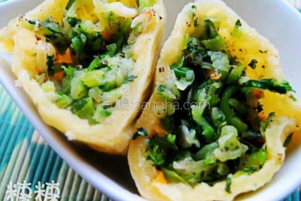 茭瓜大菜饺的做法