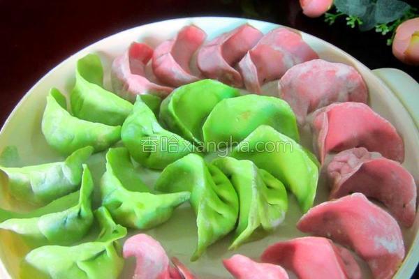 蔬菜肉饺的做法