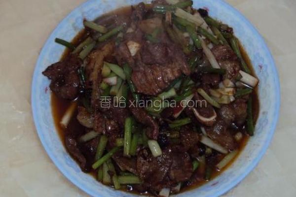 盐碱蒜苔回锅肉的做法