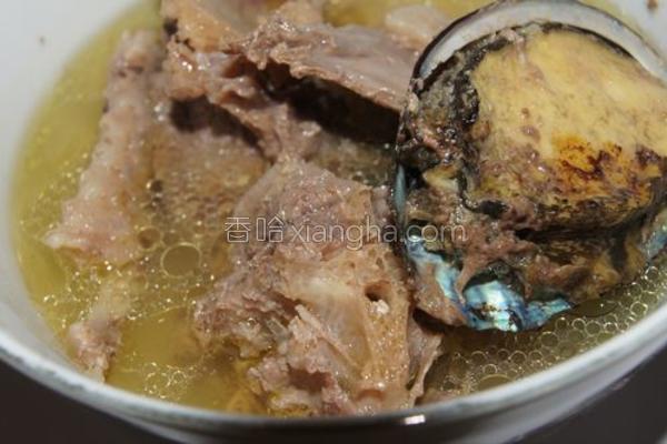鲍鱼炖鸭肉的做法