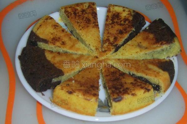 大理石奶油蛋糕的做法