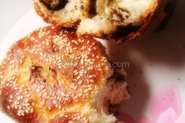 辫子花面包的做法