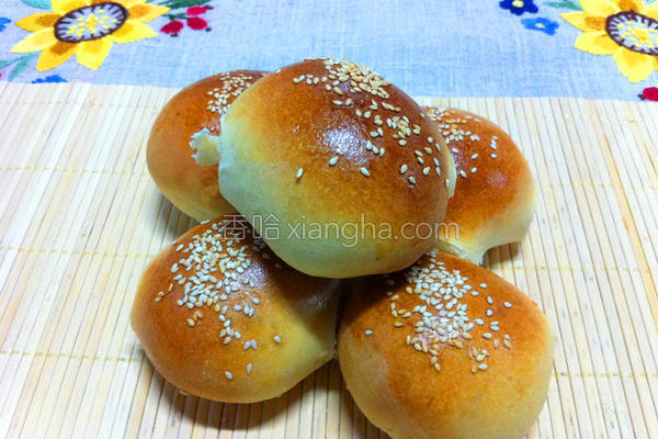 自创牛奶面包的做法