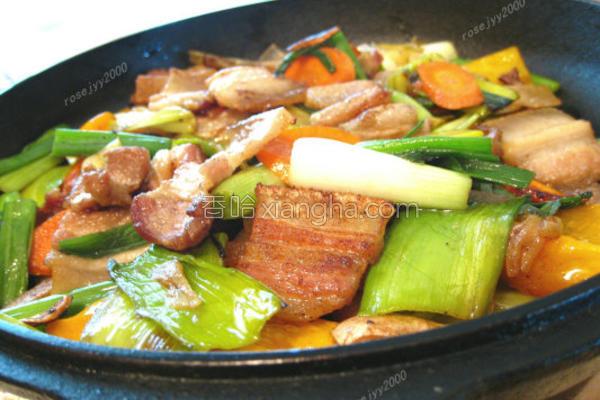 锅煎肉的做法