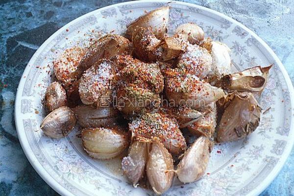 煎烤大蒜的做法