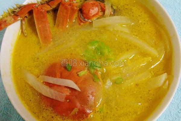 一品蟹汤的做法