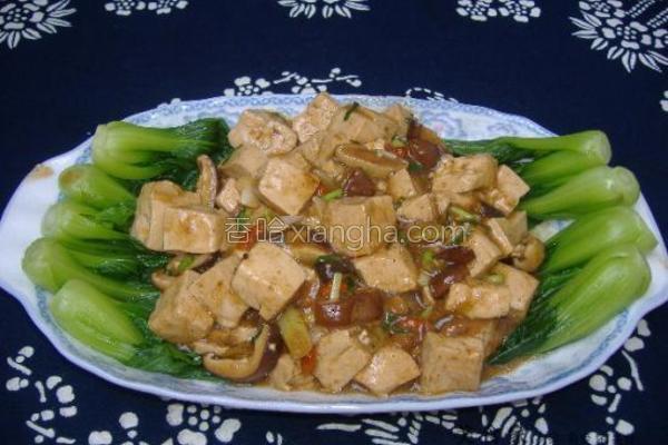 酱烧豆腐的做法