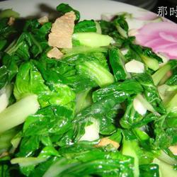 油渣小白菜的做法[图]