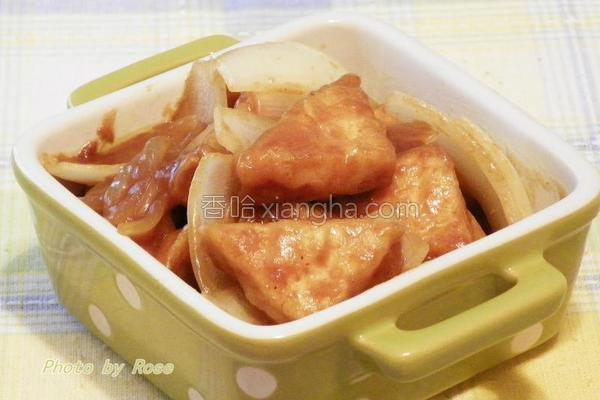 咖喱风味豆腐的做法