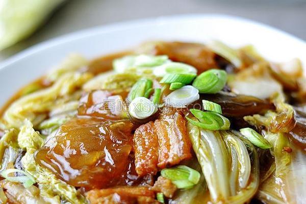 鱼香白菜粉皮的做法