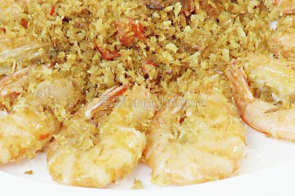 香酥黄金虾的做法