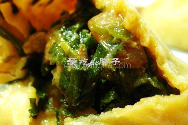 韭菜猪肉大包的做法
