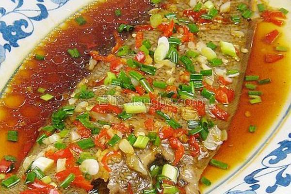 清蒸辣味方板鱼的做法