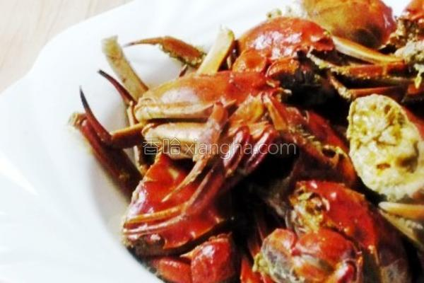清炒小螃蟹的做法