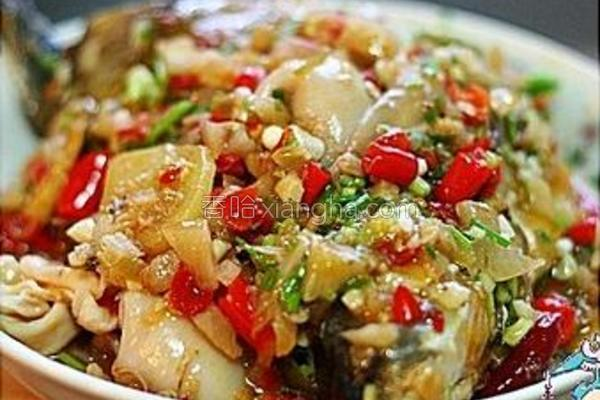 泡椒扁鱼的做法