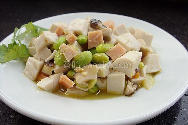 什锦豆腐的做法