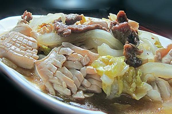 神仙豆腐焖大白菜的做法