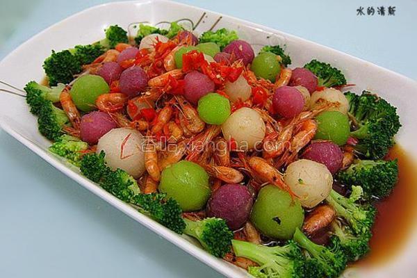 白玉翡翠虾的做法