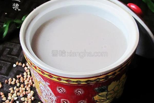 双麦豆浆的做法