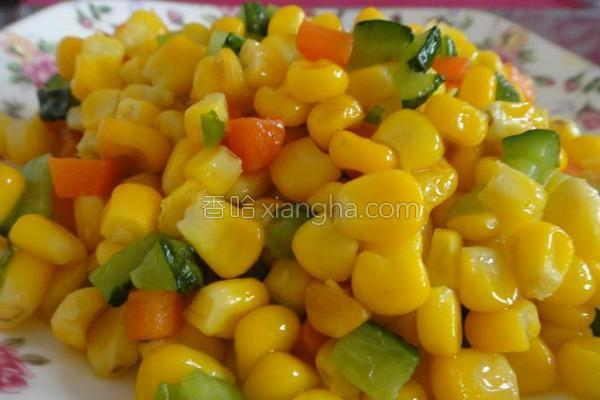 香甜玉米粒的做法