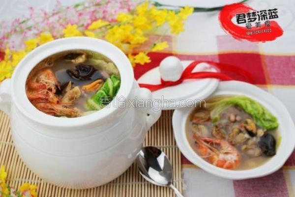 无敌海鲜汤的做法