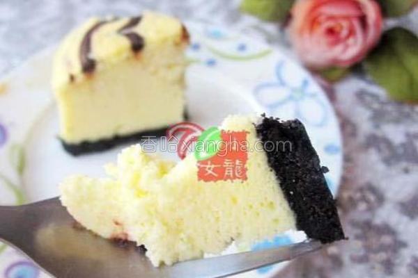 花纹芝士蛋糕的做法