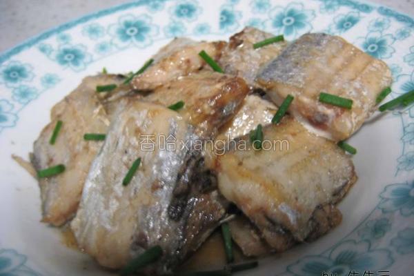 煎带鱼的做法
