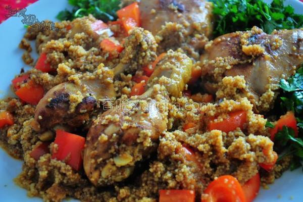 摩洛哥烧鸡的做法