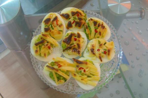 蒜香芝士焗蛋的做法