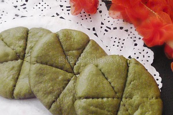 绿茶荷叶夹的做法