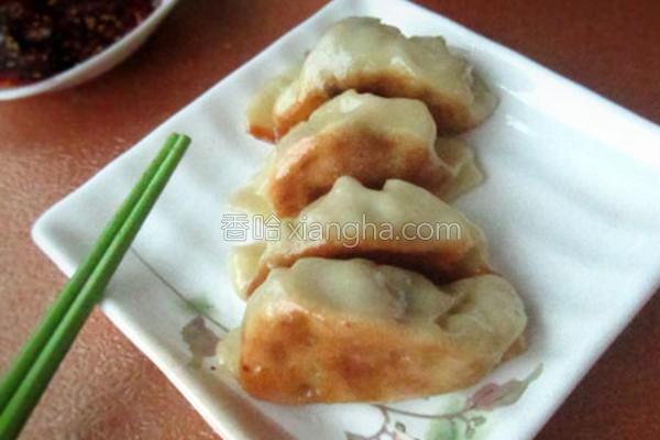 猪油渣白菜饺子的做法