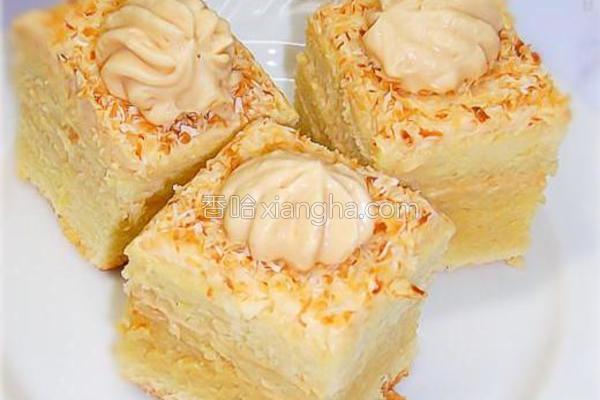 香醇浓郁花生蛋糕的做法