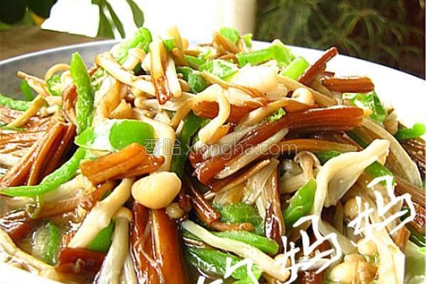 清炒金针菇的做法