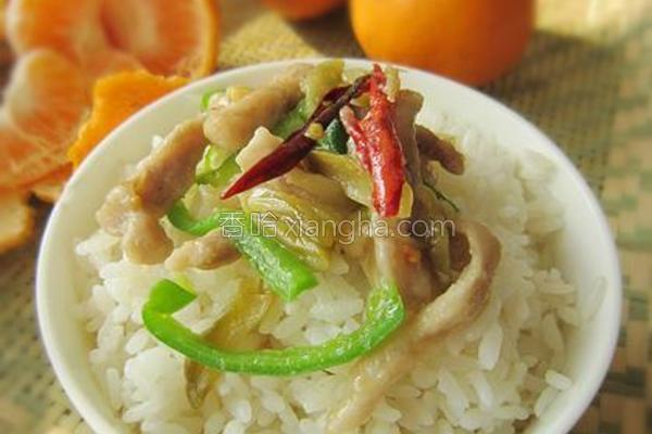 榨菜青椒肉丝的做法