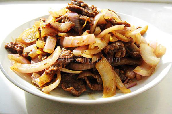 洋葱黑椒牛肉的做法