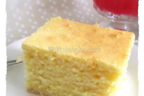 柠香奶油磅蛋糕的做法
