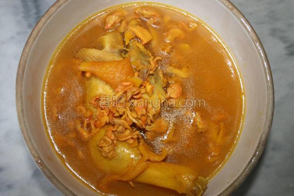 虫草汤的做法