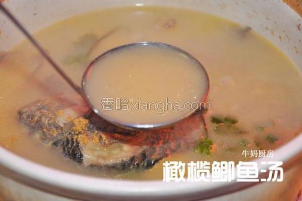 橄榄鲫鱼汤的做法