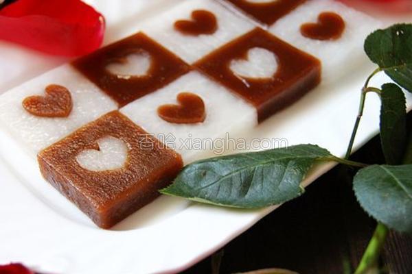 京糕萝卜的做法